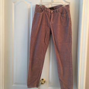 Banana Republic Rose Velvet Like Skinny Fit Pants